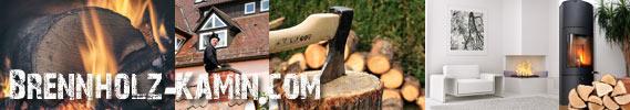 Brennholz und Kamin