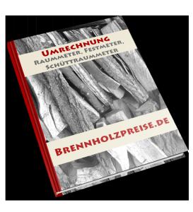 Brennholz Umrechnung E-Book
